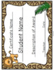 Wild Animal Jungle Editable Certificates