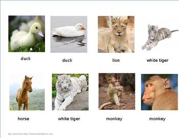 Baby Animal Matching Game