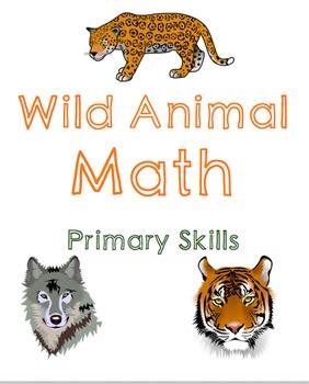 Wild Animal Math: Primary Bundle