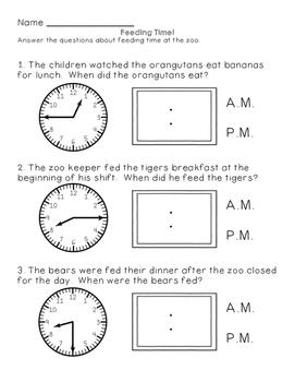 Wild Animal Math: Second Grade Skills