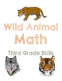 Wild Animal Math: Third Grade Skills