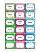 Wild Animal Prints Teacher Toolbox Labels