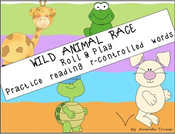 Wild Animal Race [Practice Reading r-Controlled Vowel Words]