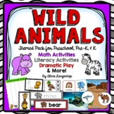 Wild Animal Theme Activity Pack