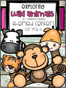 Wild Animal-Themed Center Activities for Pre-K
