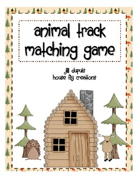 Wild Animal Tracks Quiz
