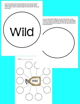 Wild Animal Writing Centers (Science Integrated)