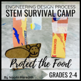 Wild Animals Activity   Protect the Food   STEM Survival Camp
