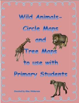 Wild Animals Circle Maps and Tree Maps