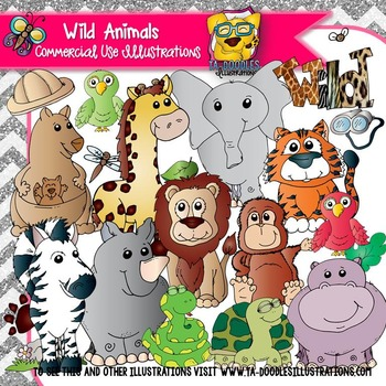 Wild Animals Clip Art