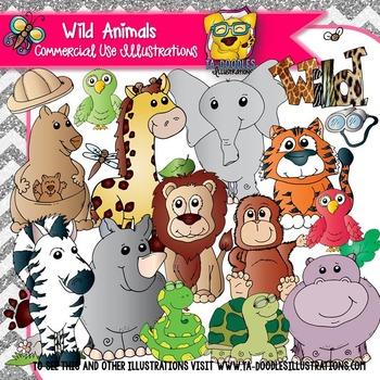 Wild Animals Clip Art
