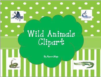 Wild Animals Clipart Images