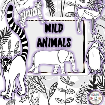 Wild Animals Coloring