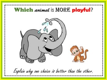 Wild Animals (Comparing Game)