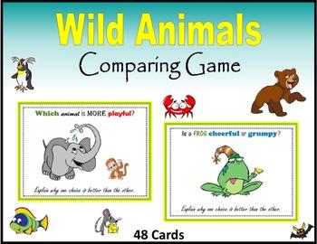 Wild Animals (Comparing Game)