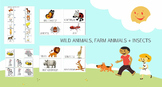 Wild Animals, Farm Animals + Insects (VIPKID)