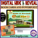 Vocabulary Wild Animals Hide and Reveal GAME Interactive Teletherapy Digital