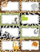 Wild Animals Notes and Labels