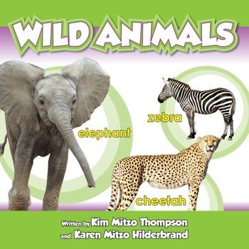 Wild Animals Read-Along eBook & Audio Track