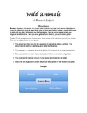 Wild Animals Research Project