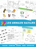 Wild Animals  {Spanish Bundle}