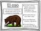 Wild Animals Study Sheets in Spanish. Animales Salvajes.