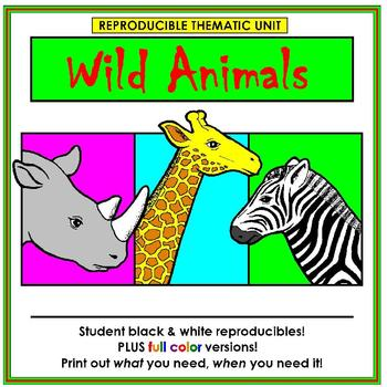 Wild Animals Thematic Unit