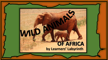 Wild Animals of Africa Flashcards