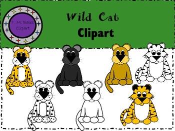 Wild Cat Clipart