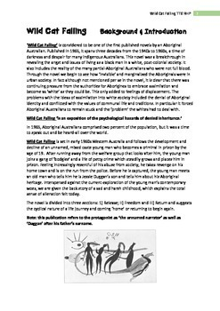 Wild Cat Falling - Mudrooroo Teacher Text Guide & Worksheets