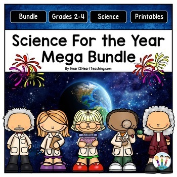 Science for the Year for 3rd and 4th Grade MEGA Bundle
