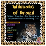 Wild Cats of Brazil:  Main Idea; Integrating Information/Combining Texts