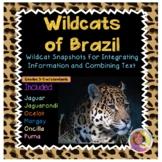 Wild Cats of Brazil: Integrate Information/Combine Texts: DistanceLearningTPT
