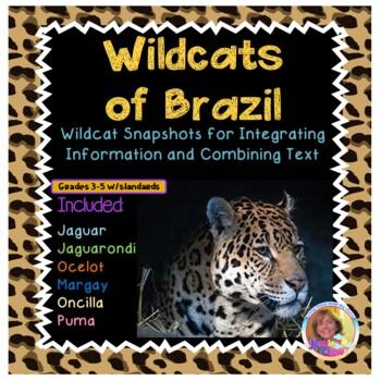 Wild Cats of Brazil:  Main Idea; Integrating Information/C
