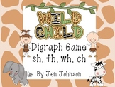 """Wild Child""- Digraphs Game sh, ch, wh, th"