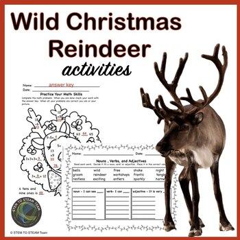 Wild Christmas: Reindeer Activity Pack