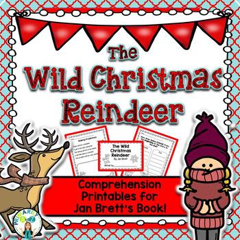 Wild Christmas Reindeer Reading Unit {Jan Brett}