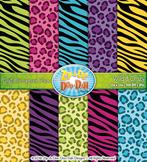 Wild & Crazy Animal Print Digital Scrapbook Pack {Zip-A-Dee-Doo-Dah Designs}