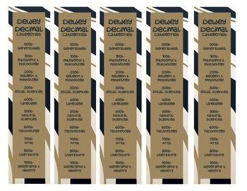 Wild Dewey Decimal Bookmark