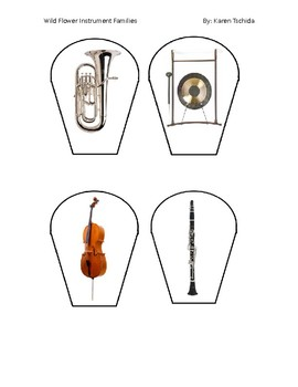 Wild Flower Instrument Families