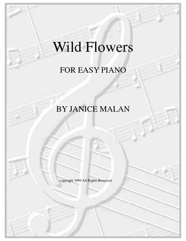 Wild Flowers - Piano solo
