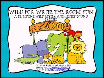 Wild For Write the Room Fun-Differentiated Common Core Freebie