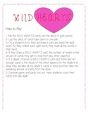 Wild Hearts - Sight Words Game