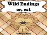 Wild Inflected Endings 'er 'est'