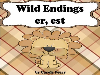 Wild Inflected Endings 'er 'est'