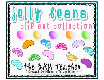 Wild Jelly Bean Clip Art Collection
