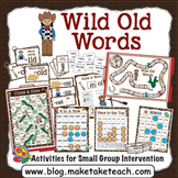 Wild Old Words Phonics Bundle