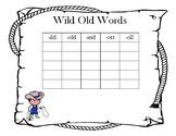 Wild Old Words Sort