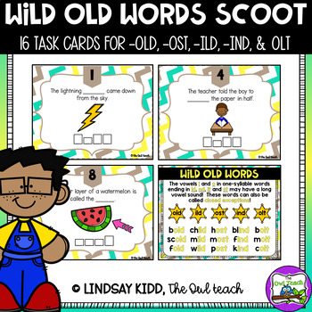 Wild Old Words:  Spelling SCOOT