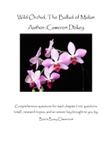 Wild Orchid Comprehension Questions